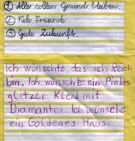 brief schreiben beispiel grundschule